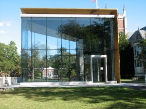 Enter here to visit the newly renovated Bowdoin College Museum of Art. Afterward, visit the Peary-Macmillan Museum in Hubbard Hall. Both are free.