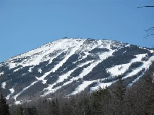 Sugarloaf from the access road, 4.15.09